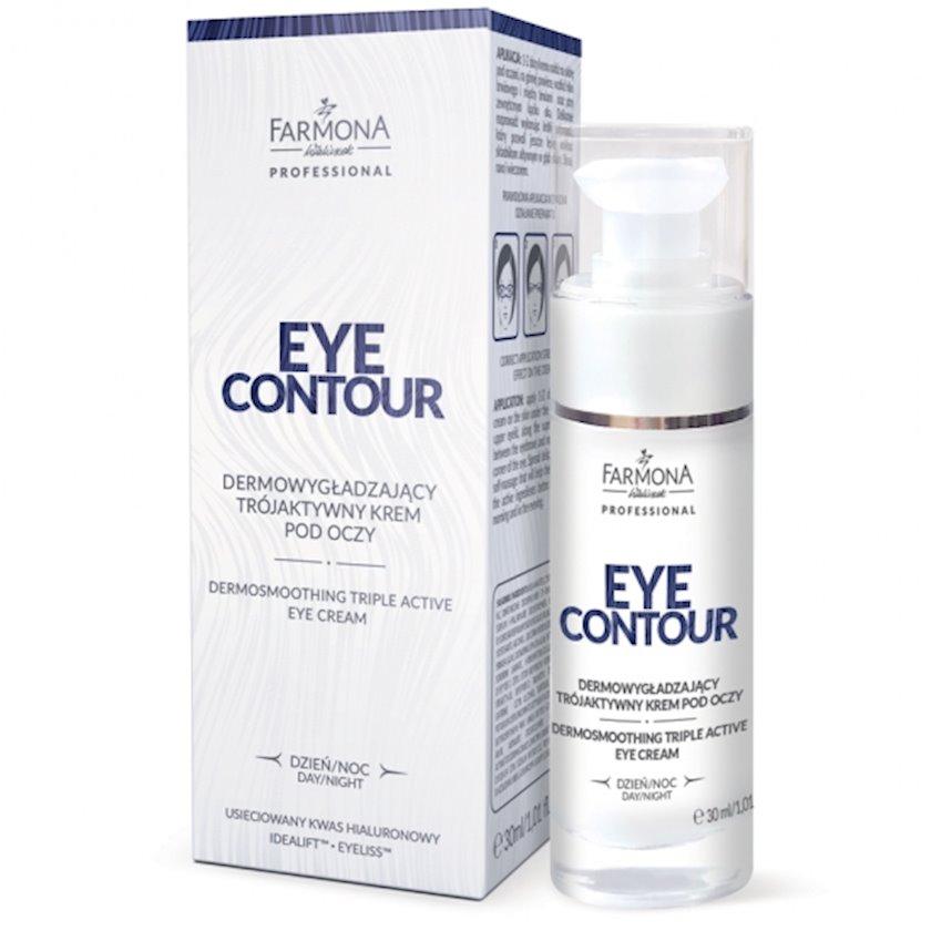 Krem göz ətrafı dəri üçün Farmona Eye Contour hamarlaşdırıcı 30 ml