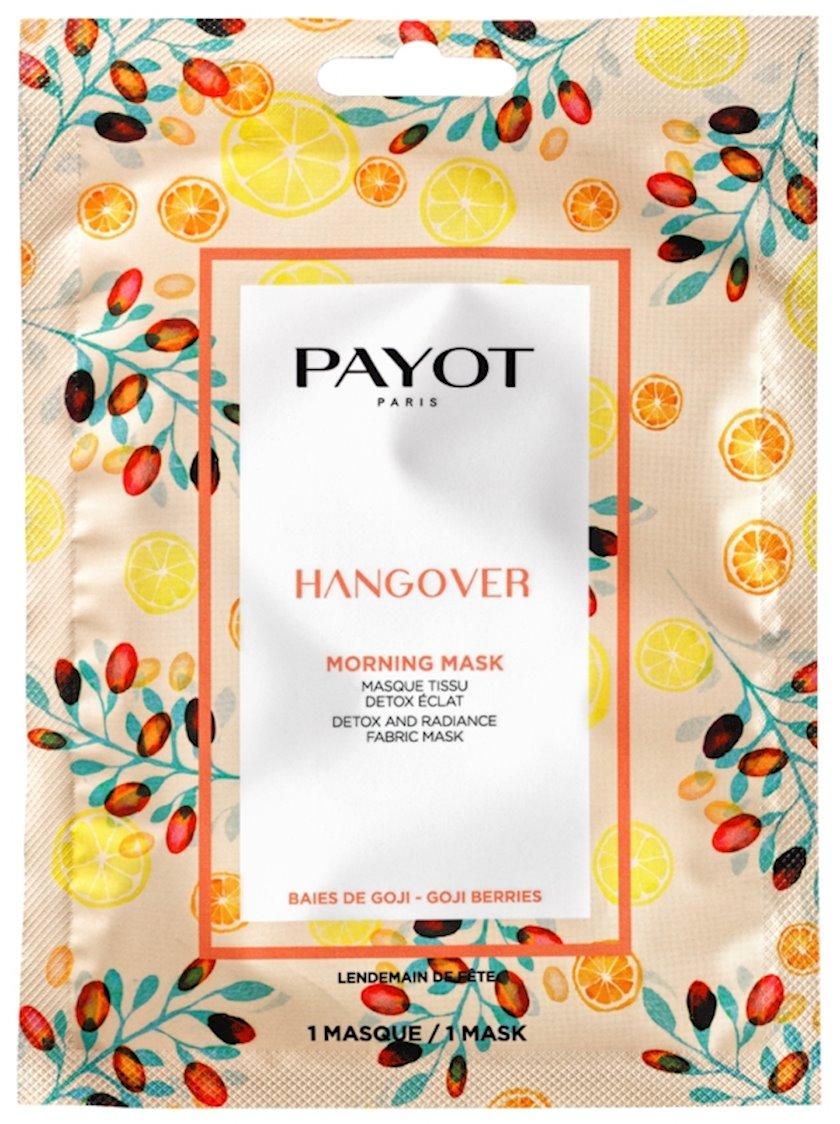 Detoks maska Payot Hangover Morning Mask dəri parıltısı üçün, 1 ədəd
