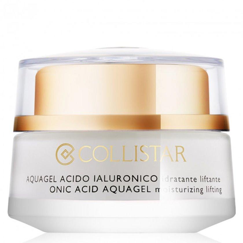 Üz üçün gel Collistar Attivi Puri Hyaluronic Acid Aquagel Moisturizing Lifting hialuron turşusu ilə, 50 ml