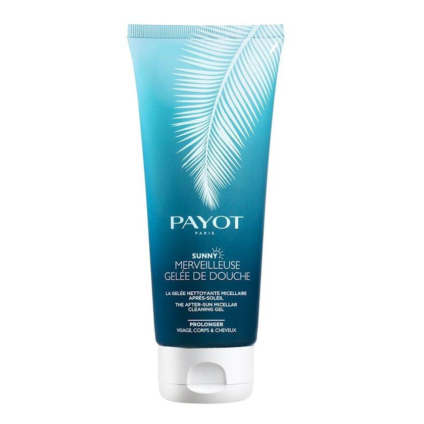 Qaralma sonrası misellyar duş geli Payot Sunny Wonderful After-Sun, 200 ml