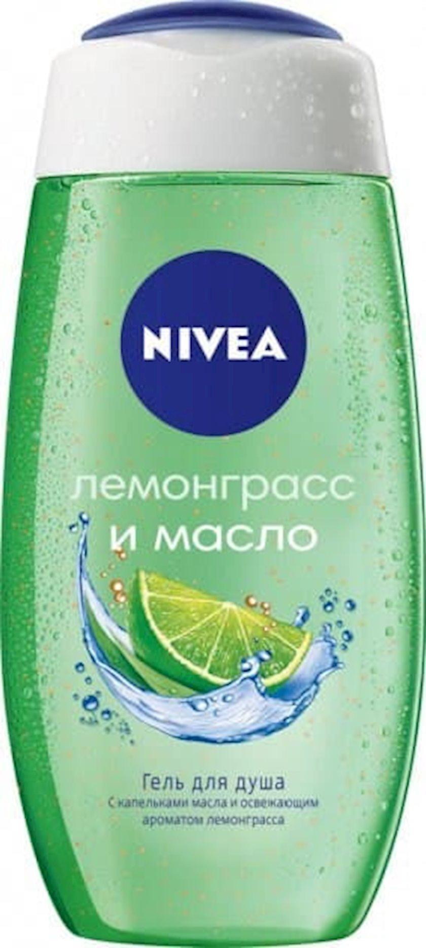 Duş geli Nivea Lemongrass, 250ml