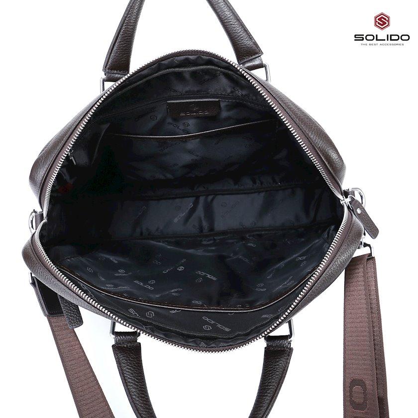 Noutbuk Dell Inspiron 3582 üçün çanta Solido YD23221BK qara