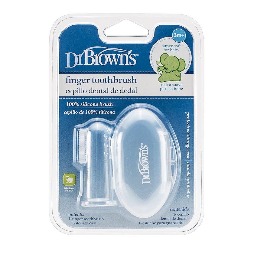Silikon barmaq diş fırçası Dr.Brown's