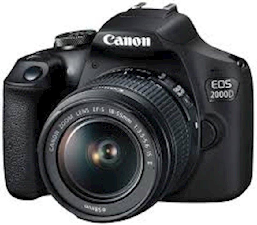 Fotoaparat Canon D.CAM EOS 2000D BK 18-55 IS II RUK