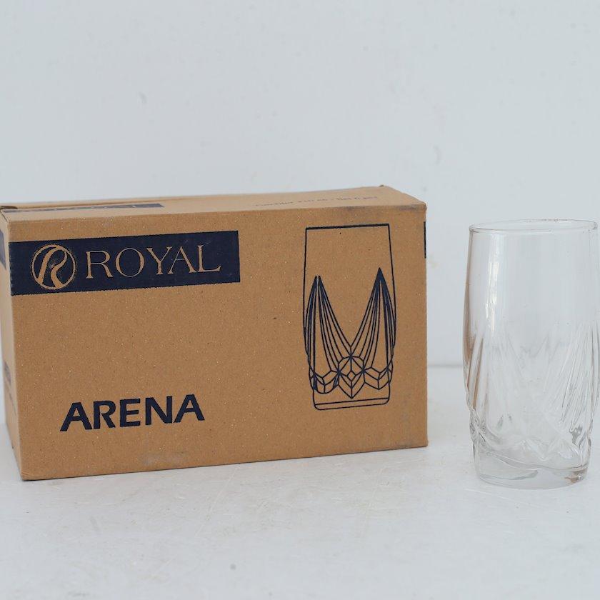 Dəst badə Sakura Royal Arena 780134W, 6 ədəd, şüşə, şəffaf
