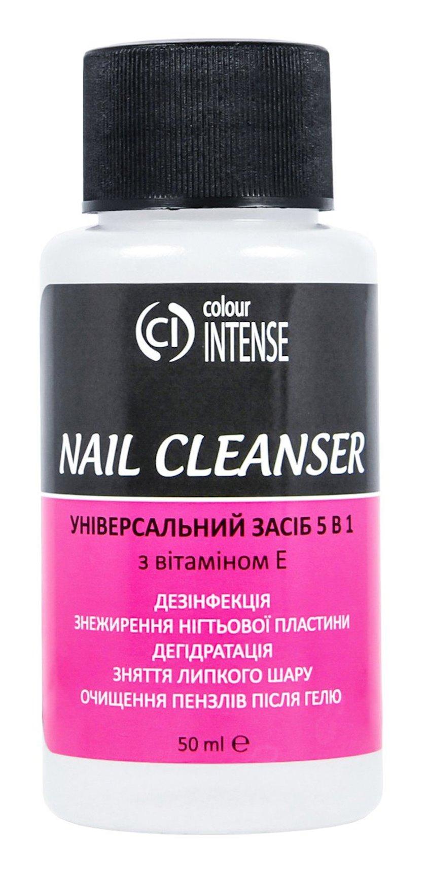 Universal dırnaqlar üçün vasitə Colour Intense Nail Cleanser 5-i 1-də