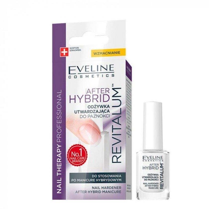 Dirnaqların möhkəmlənməsi üçün kondisioner Eveline after hybrid nail therapy professional revitallum , 12 ml