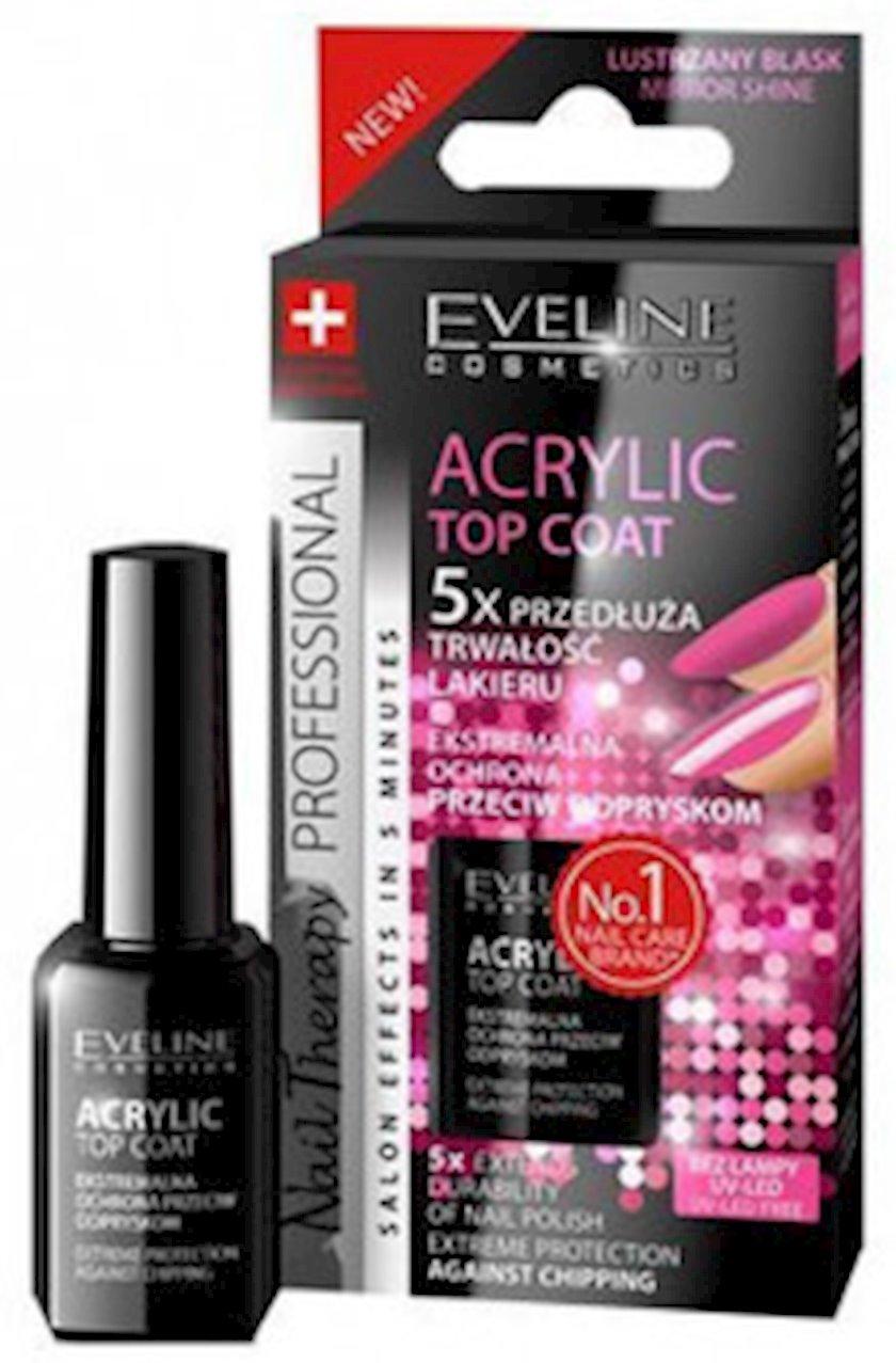 Parçalanmadan ekstremal müdafiə Eveline nail therapy professional acrylic top coat, 12 ml