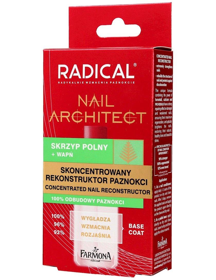 Dırnaqların bərpası və möhkəmləndirilməsi Farmona Radical Nail Architect 12 ml