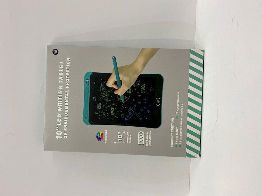Elektron planşet Şirinlər Toys LCD Writing Tablet 10 inch, plastik, 25.3x17.4 sm