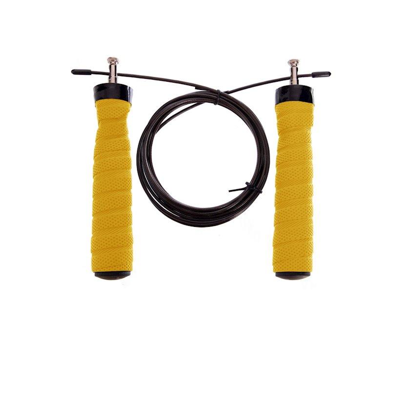 Atlama ipi Cima krossfit üçün, sarı/qara, 165-189 sm
