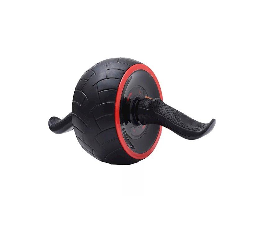 Press üçün rolik Iron Gym Speed ABS ensiz, uniseks, qara/qırmızı, 36-110 kq