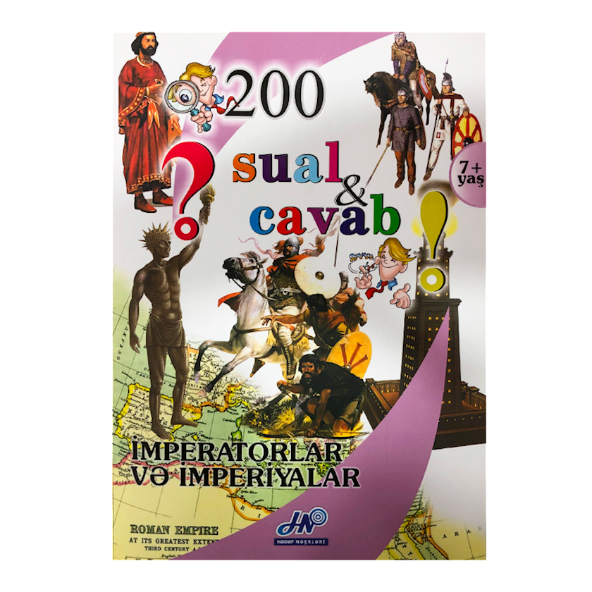 Kitab 200 Sual və Cavab: İmperatorlar və imperiyalar