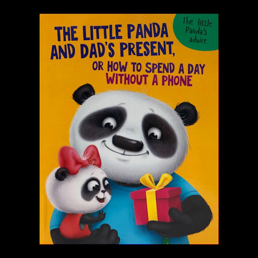 Kitab The Little Panda and Dad's present, Анастасия Грецкая