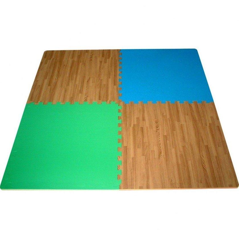 Xalça məşq üçün GVG Gym Fitness Mat Tiles X4 Multicolor Reversibles