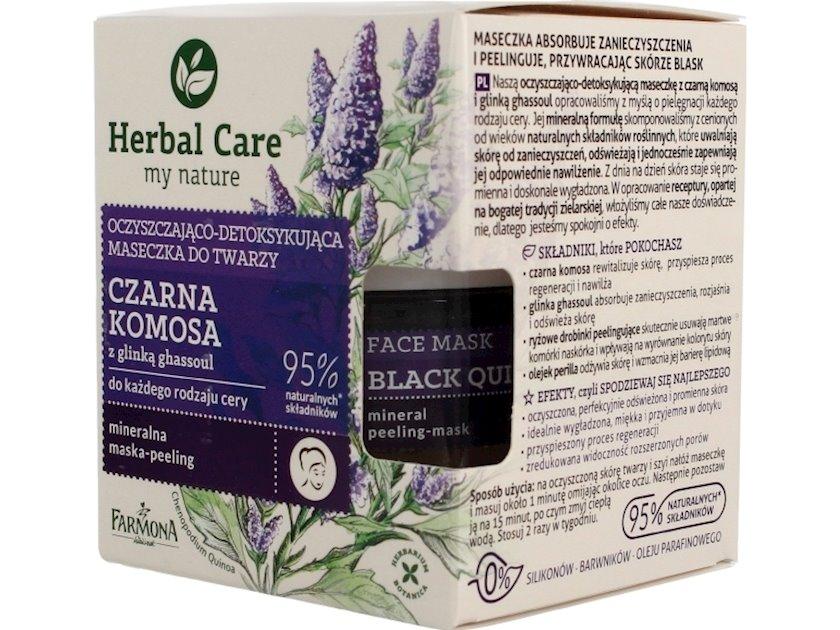 Maska üz üçün Farmona Herbal Care Təmizləyici və Detox edici