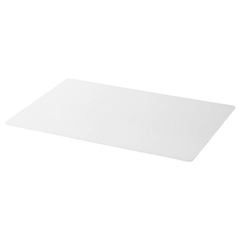 Masa üçün altlıq Ikea Skvallra, ağ, 60x80sm