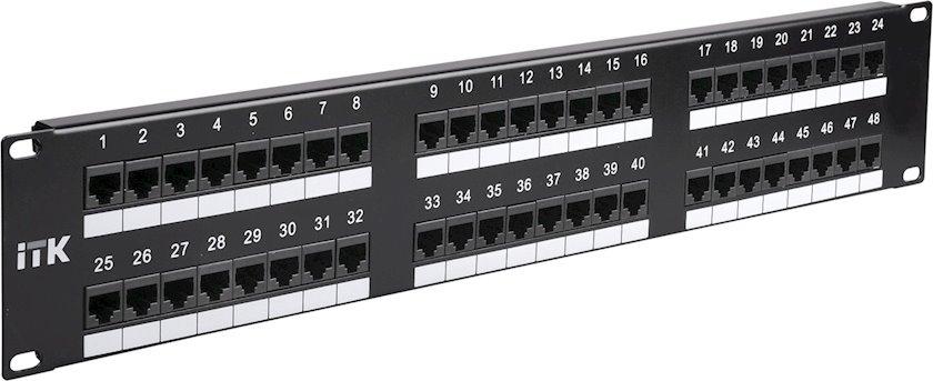 Divarüstü patç-panel ITK PP48-2UC6U-D05