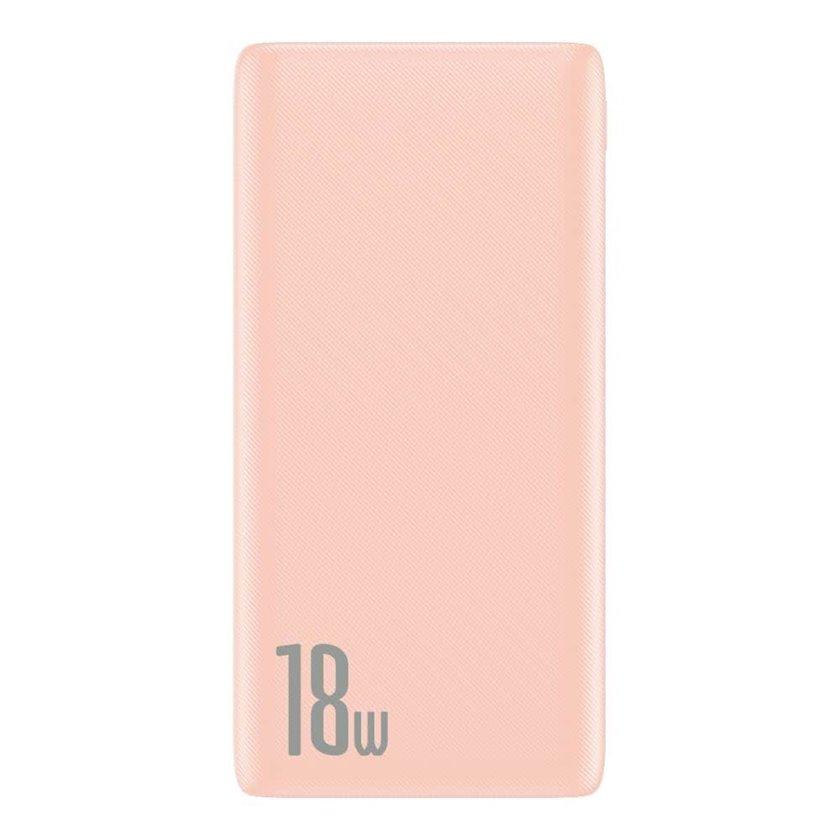 Powerbank Baseus Bipow Quick Charge Power Bank PD+QC 10000mAh Pink