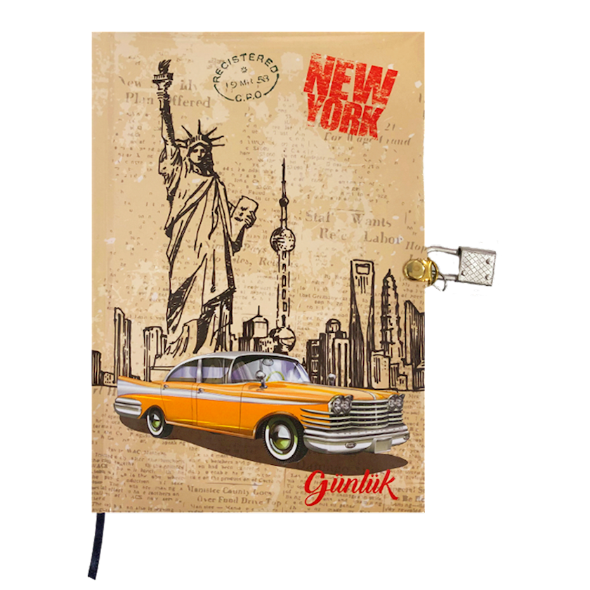 Gündəlik qıfıl ilə New York