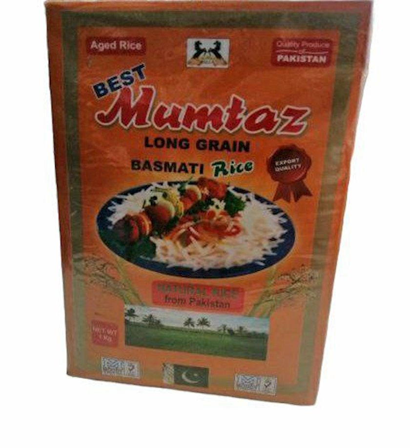 Düyü Mumtaz Basmati Rice uzun 1 kq