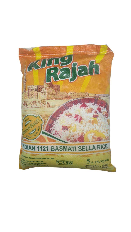 Düyü Sultan Basmati King Rajah 5 kq