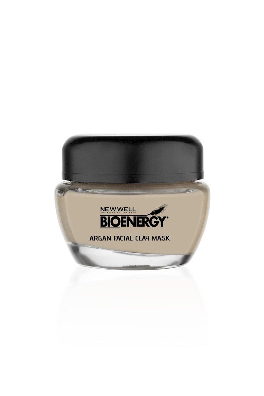 Arqan gil ilə üz maskası New Well Bioenergy Argan Facial Clay Mask