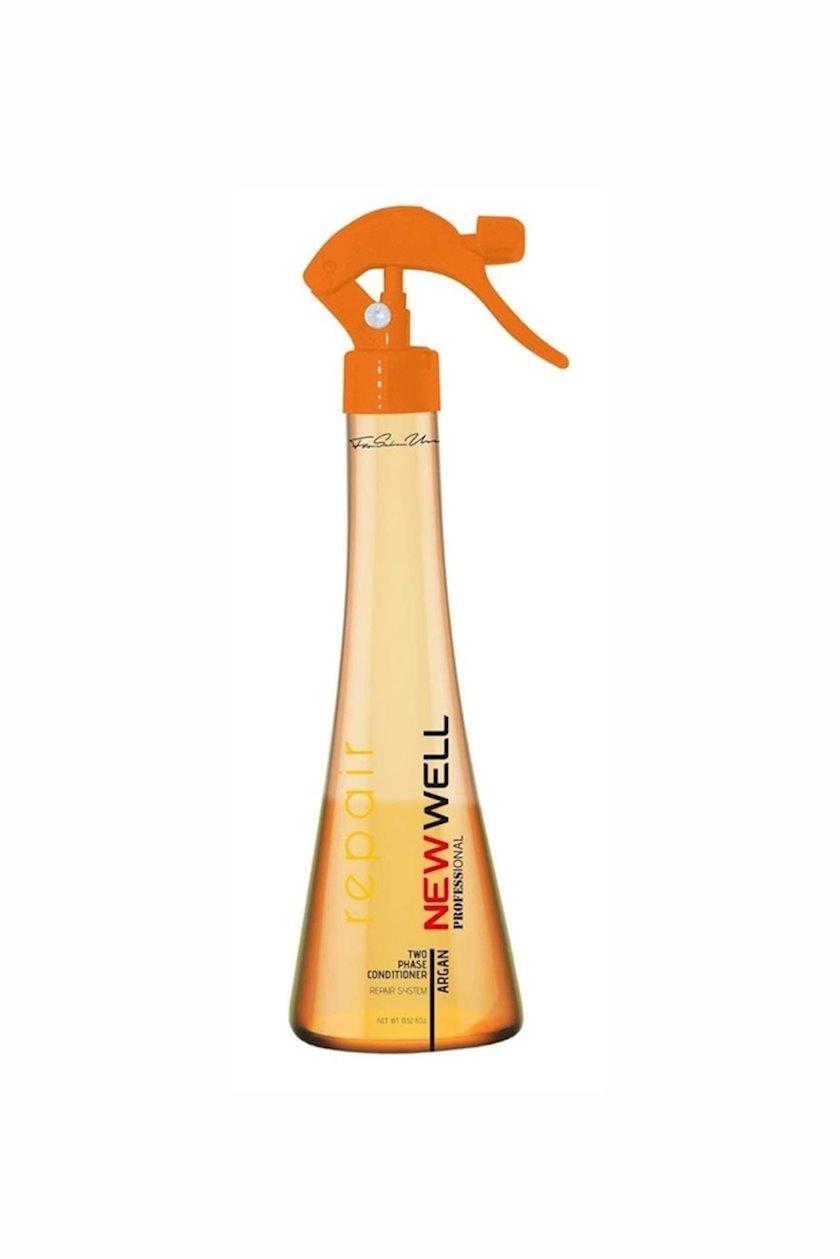 Saçlar üçün sprey New Well Professional arqan ekstraktı ilə 400ml