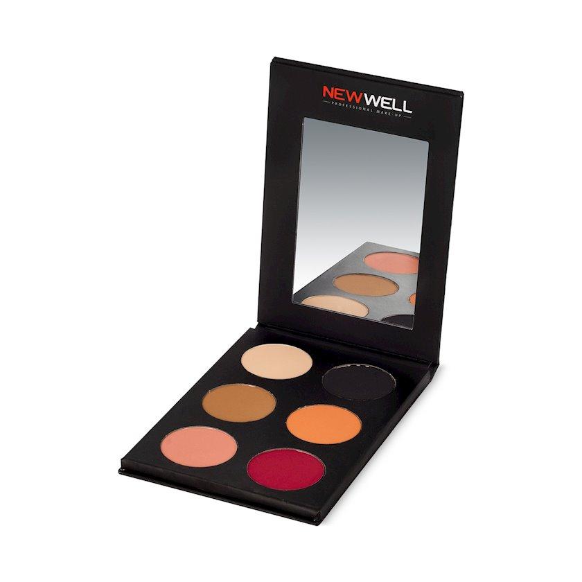Kölgələr paleti New Well Derma Eyeshadow Palette NW 52