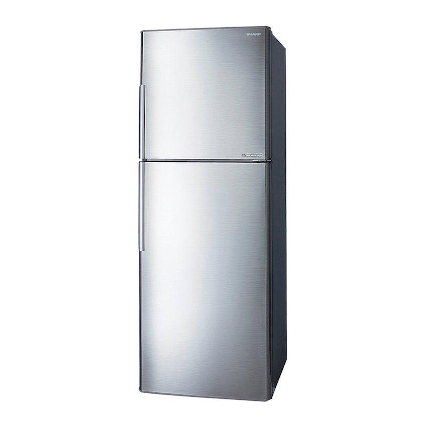 Soyuducu Sharp Door Refrigerator Inverter SJ-S390-SS3 Silver