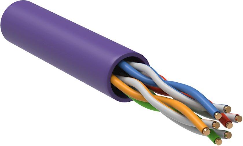 Hörülmüş cüt kabeli ITK LC1-C5E04-126, 305 m