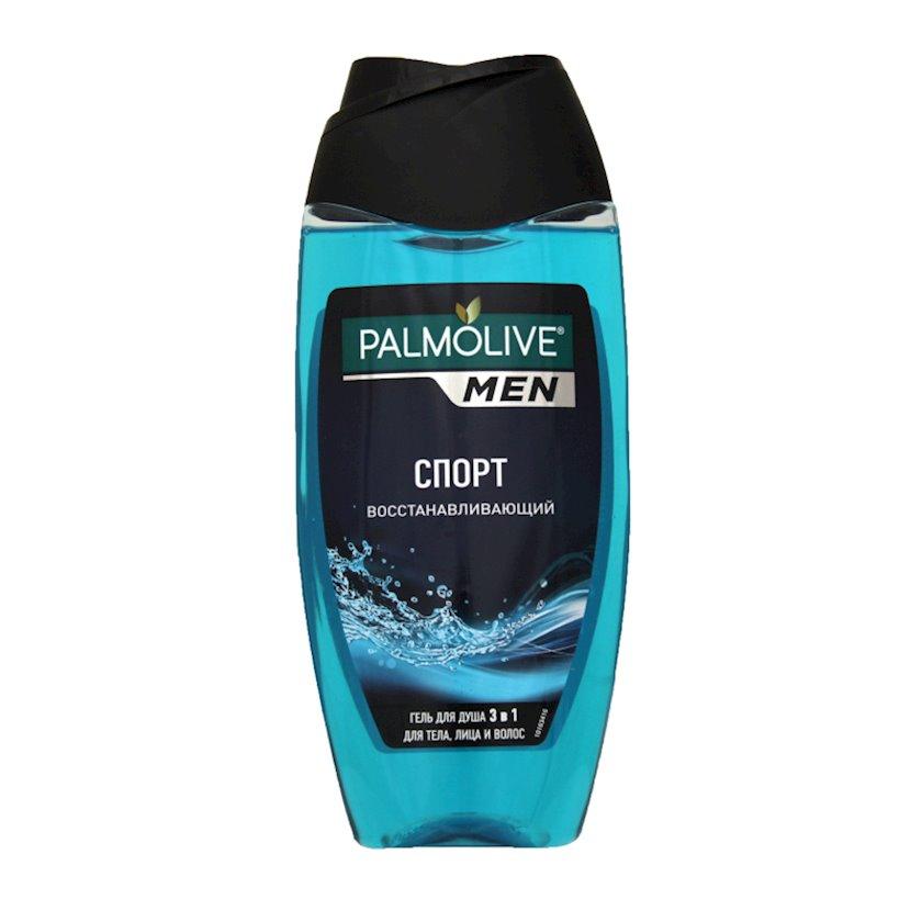 Duş üçün gel-şampun Palmolive Sport Bərpa edici, 3-ü 1də, bədən, üz və saçlar üçün, 250 ml