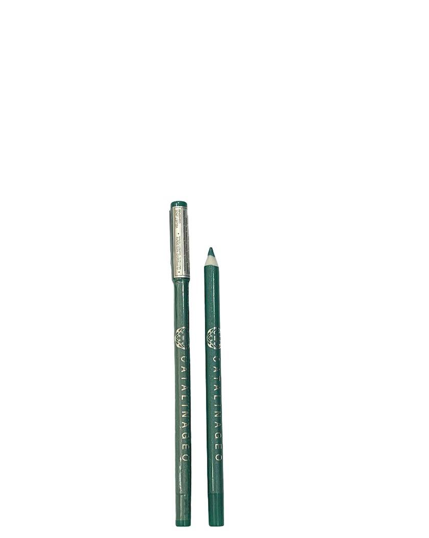 Göz qələmi Catalina Geo Glitter Eye Liner Pencil Velvet Jade