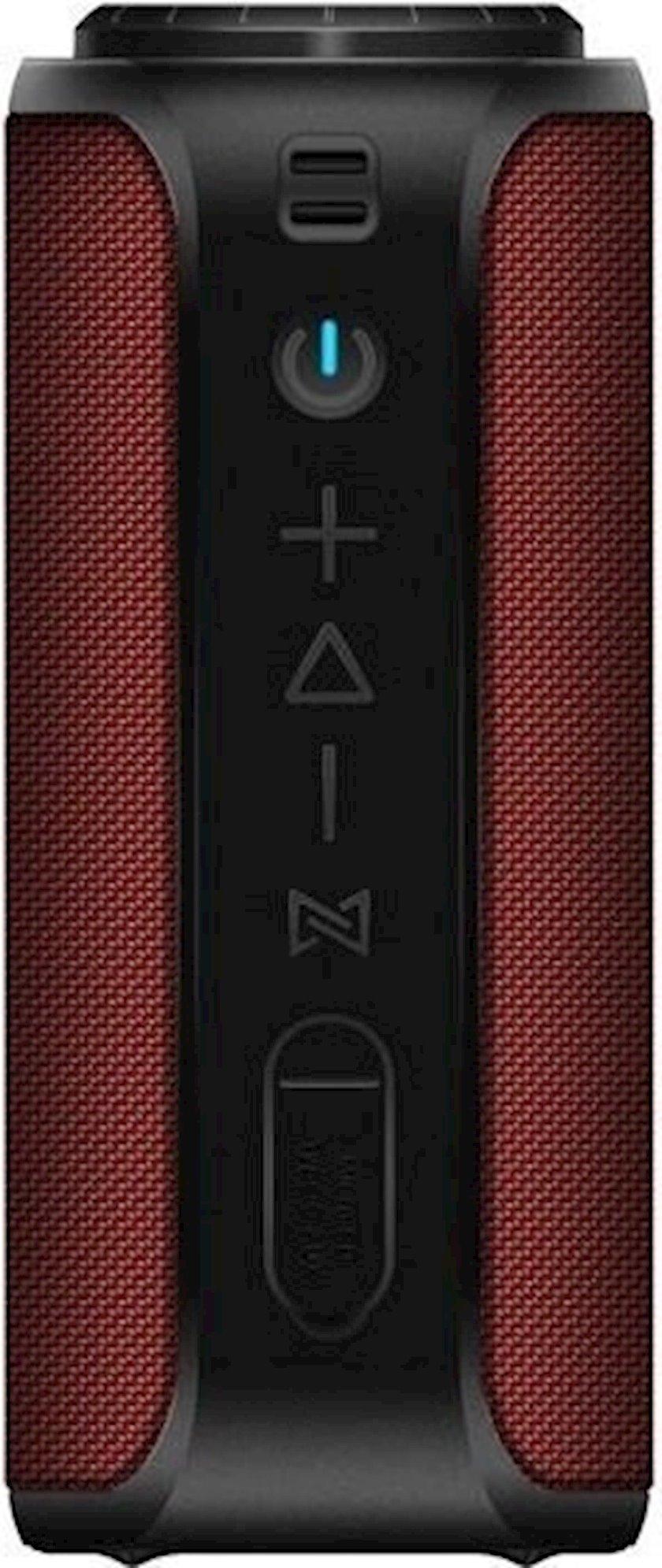 Portativ dinamik 2E SoundXTube TWS, MP3, Wireless, Waterproof Red