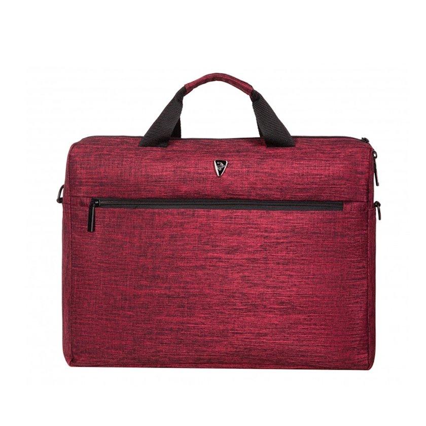 Çanta noutbuk üçün 2E Laptop Bag 16, Beginner, Burgundy