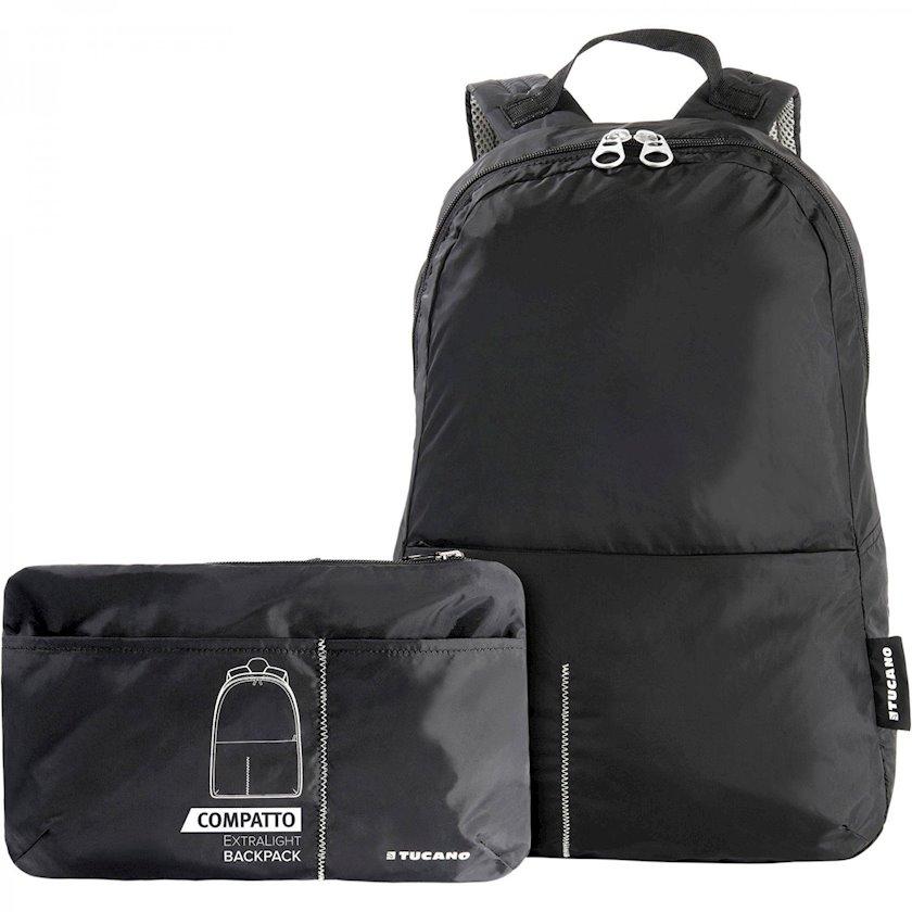 Bel çantası noutbuk üçün Tucano Compatto XL, qara