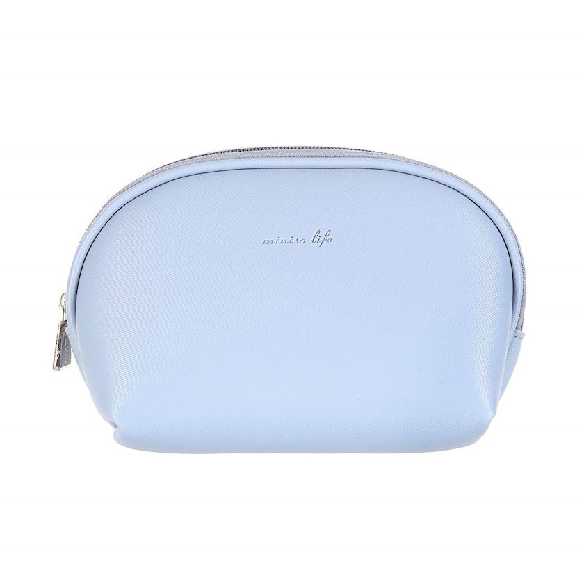 Kosmetika çantası yarımdairəvi Miniso,Mavi
