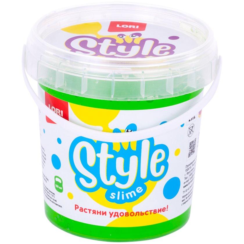 Slaym Lori Style slime klassik Yaşıl alma ətiri ilə Сл-003, 150 ml