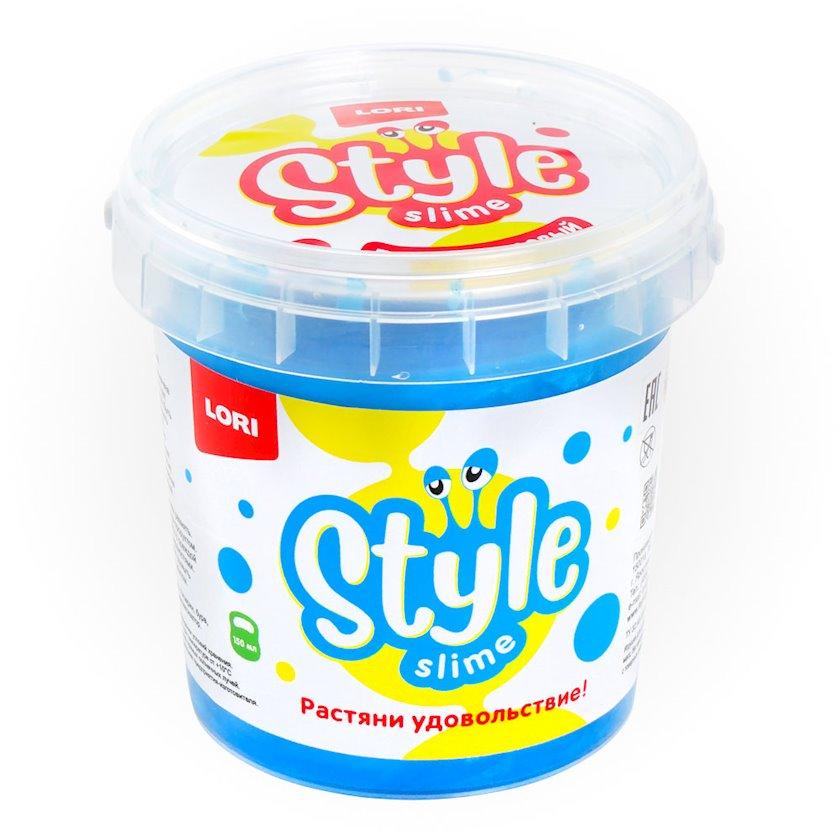 Slaym Lori Style slime sədəf Mavi tutti-frutti ətiri ilə Сл-005, 150 ml
