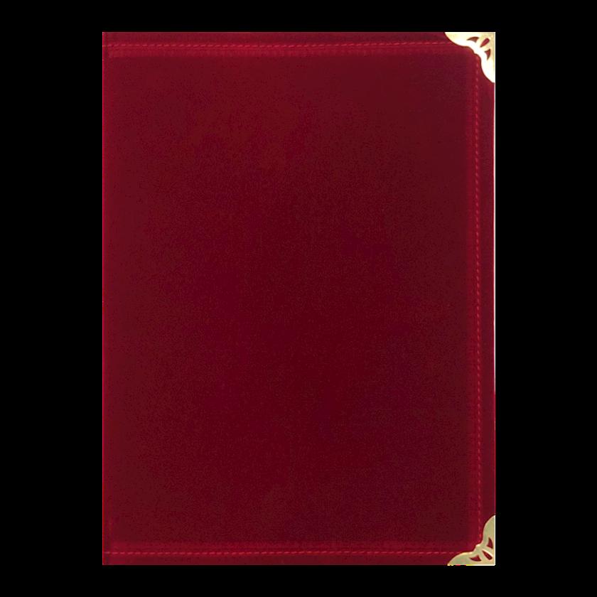 Məruzə qovluğu A4, qırmızı