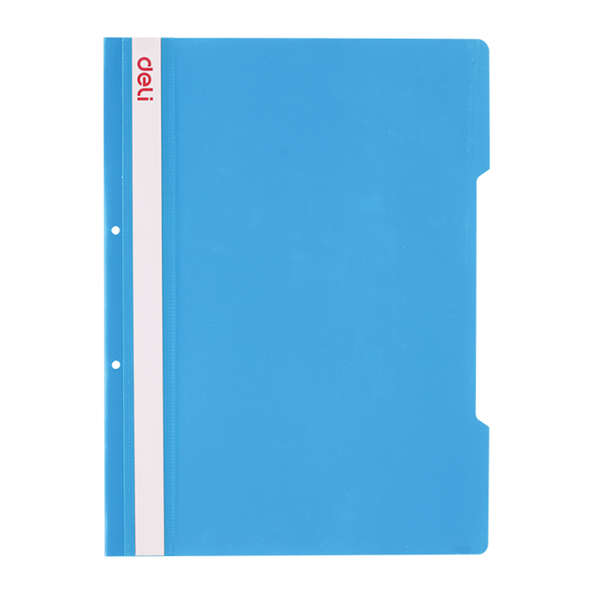 Hesabat qovluğu A4 DELI Office, mavi, 2 dəlikli