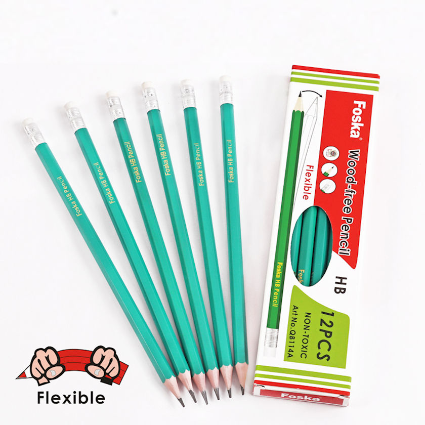 Plastik karandaş Foska HB Wood-Free Pencil
