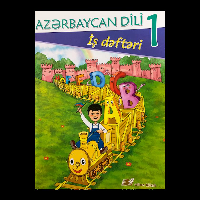 Kitab Azərbaycan Dili İş dəftəri 1-ci sinif