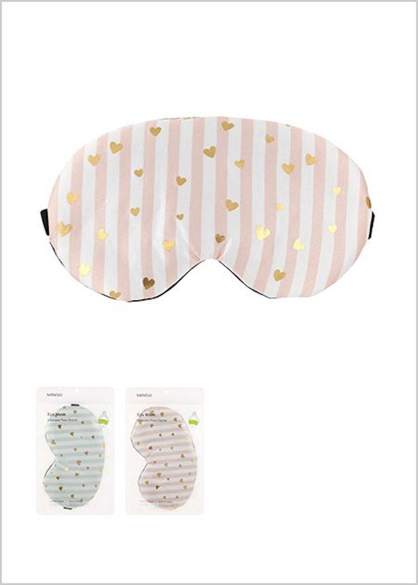 Gözlük maskas Miniso ürək printi ilə,müxtəlif rənglər