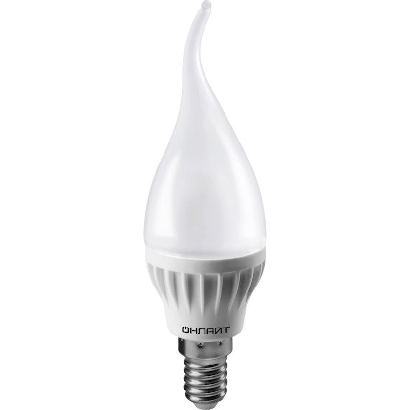 LED lampa ОНЛАЙТ OLL, E14, küləkdə şam, 75Vt, 6000K