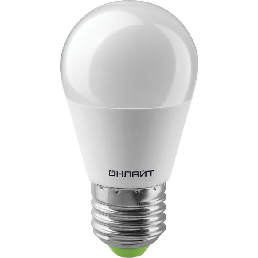 LED lampa ОНЛАЙТ OLL E27, armudu, 10Vt, 2700K