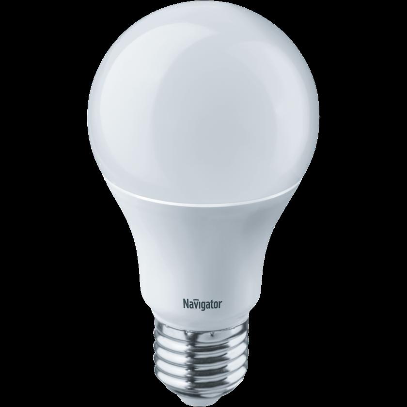 LED lampa Navigator NLL, E27, armudu, 10Vt, 6500K