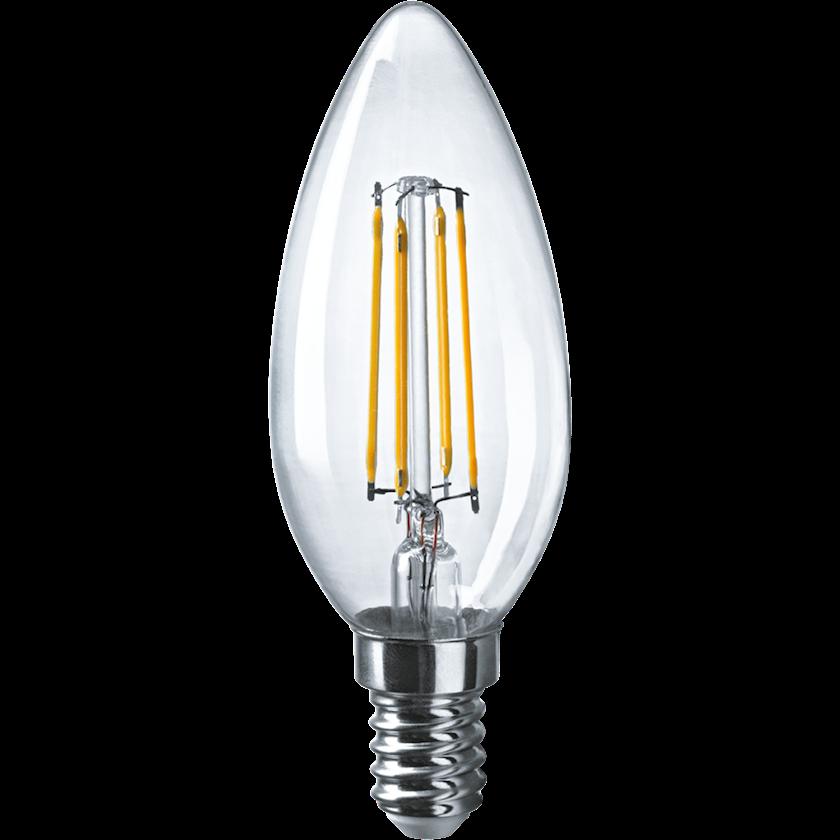 LED lampa Navigator NLL, E14, şam, 4Vt, 2700K