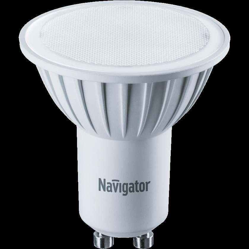 LED lampa Navigator NLL, GU10, reflektor, 7Vt, 3000K