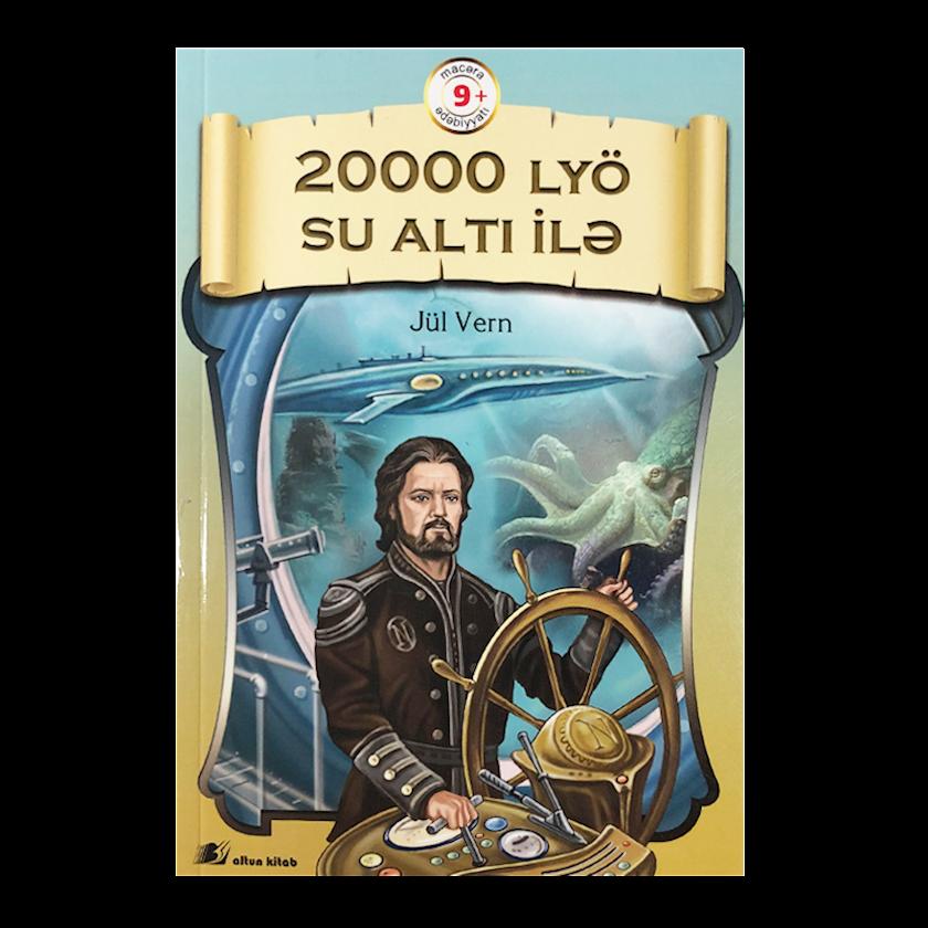 Kitab 20000 lyö su altı ilə, Jül Vern